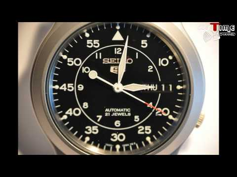 2S Time-Seiko Automatic Watch Military Collection