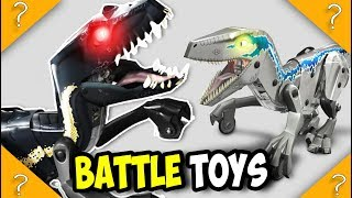 BATTLE TOYS Blue and Indoraptor VILLAIN dinosaur MATTEL Kamigami