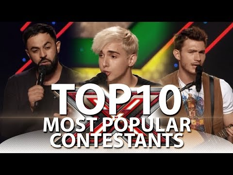 TOP-10 Most Popular X-Factor Contestants On YouTube
