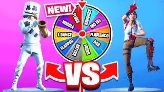 RANDOM EMOTE Spin The WHEEL *NEW* Game Mode in Fortnite Battle Royale