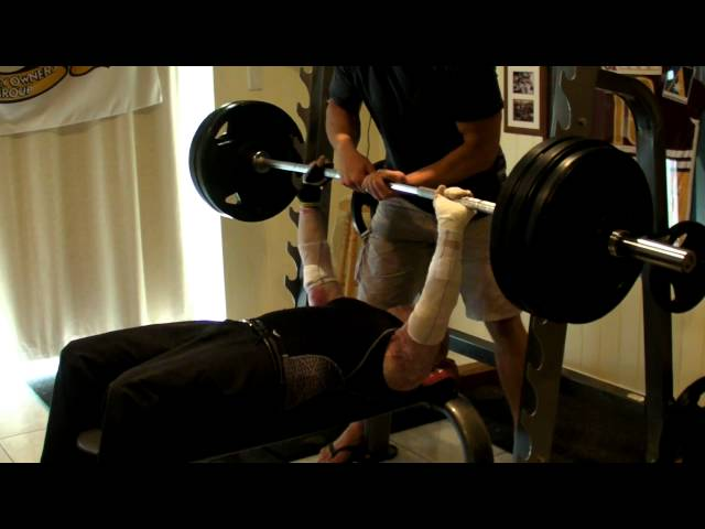 147.5kgs Record Bench Press!!