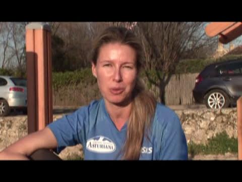Anne Igartiburu en la Carrera de la Mujer