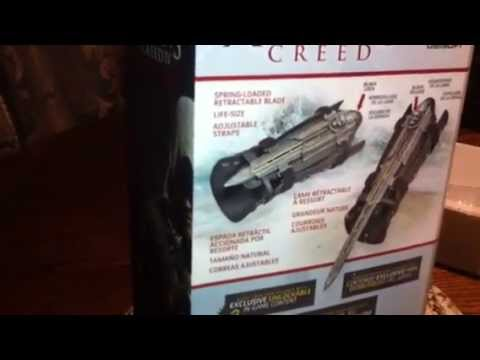 ASSASSIN'S CREED IV BLACK FLAG PIRATE HIDDEN BLADE REPLICA UNBOXING!