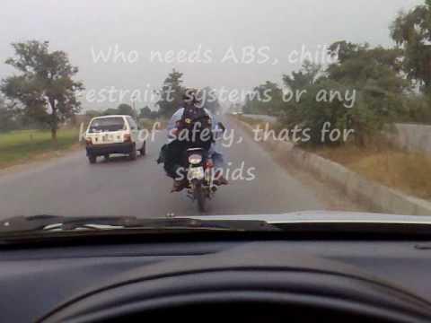 Stupid biker-Sialkot