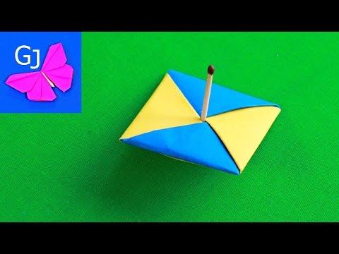 Видеоурок юла :: Оригами схема