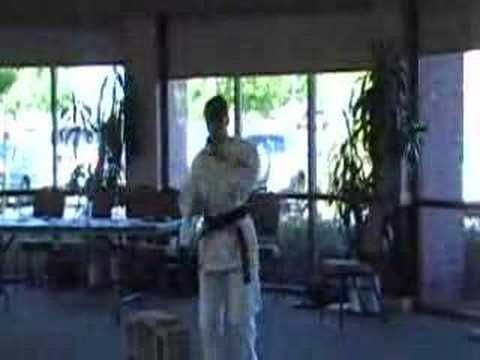 Kata Breaking Set Kyokushin Image 1