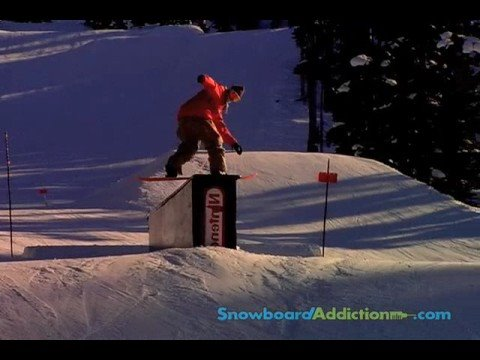How To Frontside Boardslide (Goofy) - Snowboard Addiction