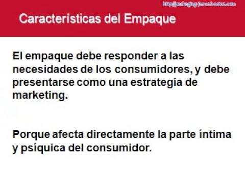 EMPAQUES Y EMBALAJES 2