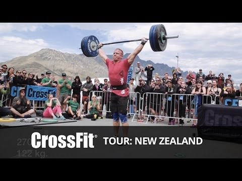 The CrossFit Tour: Competition in Kiwi Country--Hang Snatch Event Image 1