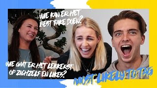 The ROAST of NINA WARINK ROBBERT RODENBURG & IRIS ENTHOVEN | MOST LIKELY TO TAG
