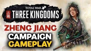 THE BANDIT QUEEN'S RAGE! Total War: Three Kingdoms - Zheng Jiang - 3hr Campaign Gameplay