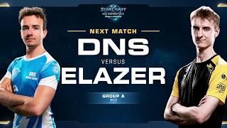 DnS vs Elazer PvZ - Group A Decider - WCS Challenger EU Season 2
