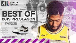 Anthony Davis LAKERS DEBUT! BEST Highlights & Plays from 2019 NBA Preseason!
