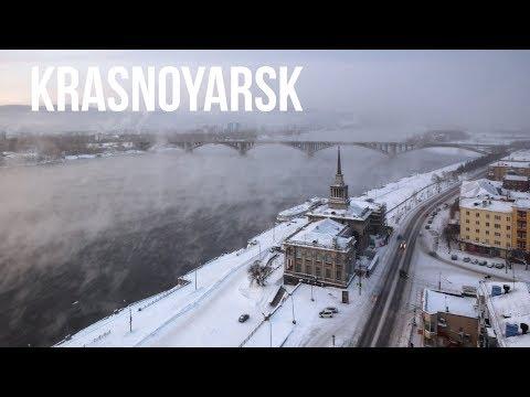 Krasnoyarsk. Siberia. Timelapse & Hyperlapse