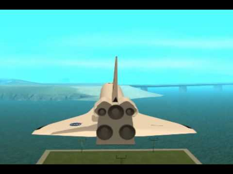 GTA SA: Space Shuttle Discovery V4
