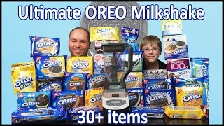 Ultimate Oreo Milkshake : 30+ items!! : Crude Brothers
