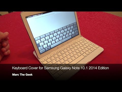 Keyboard Cover for Samsung Galaxy Note 10.1 2014 Edition