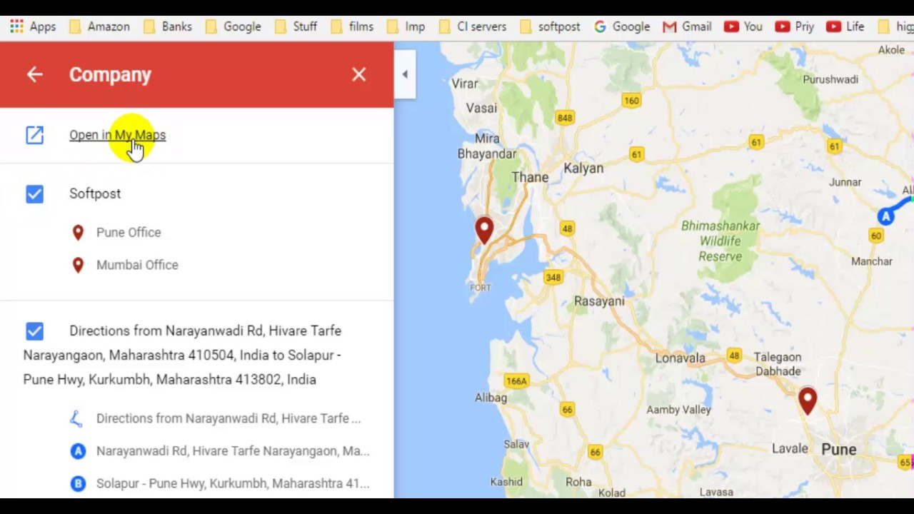 How To Add Markers And Pins In Google Maps Youtube