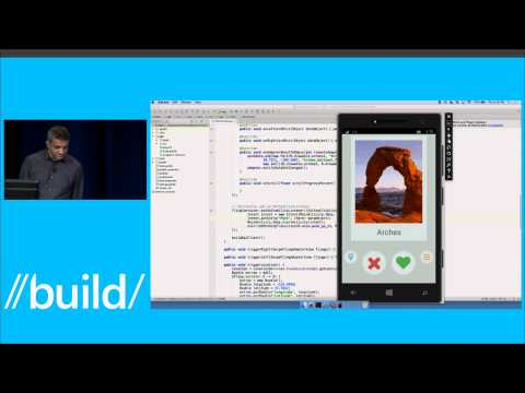 Project Astoria - Android apps on Windows Phone - Build 2015 presentation