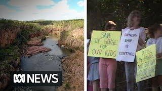 Katherine mayor apologises to Nitmiluk National Park owners 30 years after protests | ABC News