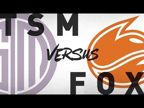 TSM vs. FOX - Week 4 Day 2 | NA LCS Summer Split | TSM vs. Echo Fox (2018)