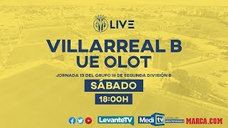 Villarreal B vs UE Olot