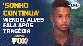 Sobrevivente no Flamengo avisa: 'O sonho continua'