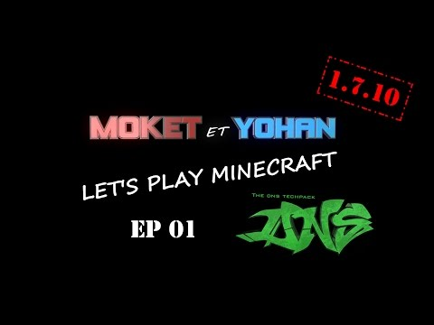 Minecraft 1.7.10 ModPack ATLauncher DNS Techpack EP01 FR : Installation et Mekanism