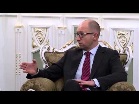 Yatsenyuk: Russia try to freeze Ukraine in winter