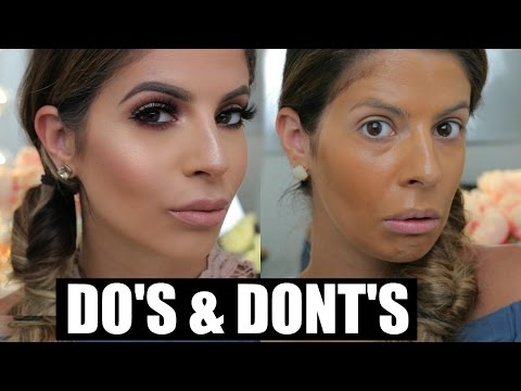 Makeup DO'S and DONTS   Foundation & Primer    Laura Lee