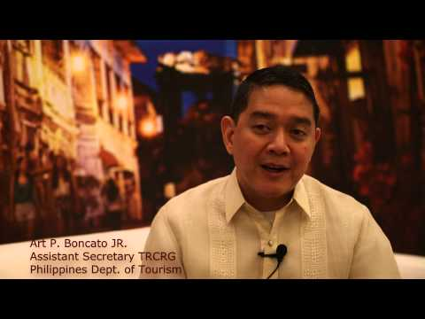 Philippines Tourism Interview at ATF 2015 - HD