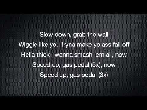Gas Pedal - Sage The Gemini Lyrics video