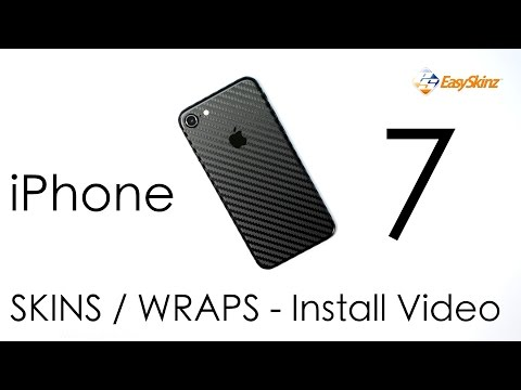 iPhone 7 CARBON Fibre Skin - INSTALL VIDEO / Review