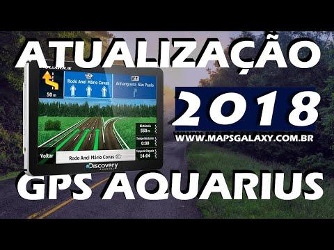 Atualizar GPS 2017 Aquarius Discovery - Mapas do Brasil 2016 Download