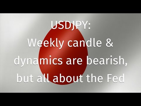 USDJPY: Weekly candle & dynamics are bearish, but all about the Fed