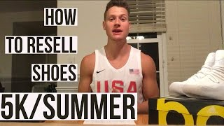 How to make money online selling shoes on eBay