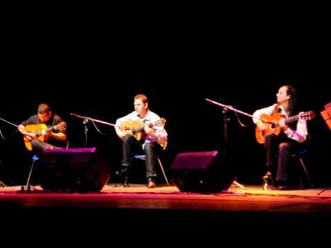 Triskle trio Violão na Caixa Cultural apresentação do dia 16/11/2011