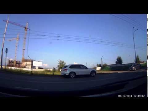 Авария на пр-т. Комсомольском 51. 12.08.14
