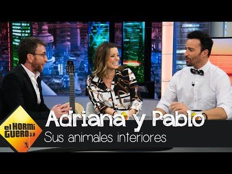 Adriana Torrebejano y Pablo Puyol sobre los animales que viven en su interior - El Hormiguero 3.0