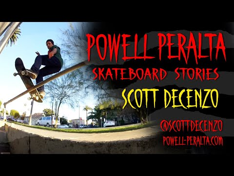 Powell Peralta Skateboard Stories - Scott Decenzo