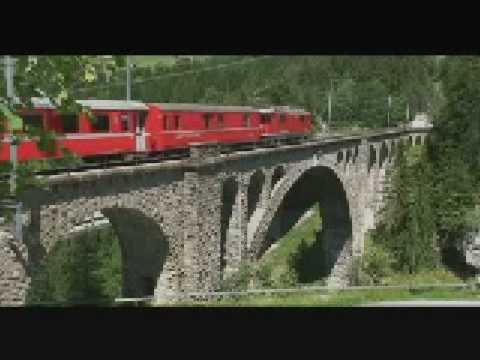 Swiss Trains - RhB UNESCO Heritage Route - Swiss Pass - SwissAlpsHotel
