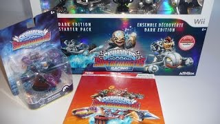 Skylanders Superchargers Racing DarK Starter Pack Review AMIIBO Browser WII Activision