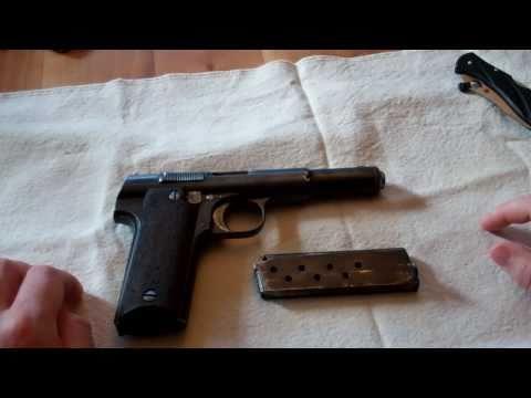 Spanish Astra 600/43 9mm Parabellum Semi-Auto Pistol WWII