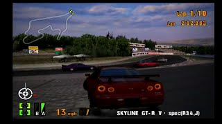 Gran Turismo 3 EPIC RACE! Funny Race in the Race of the Red Emblem! Grand Valley Speedway II!