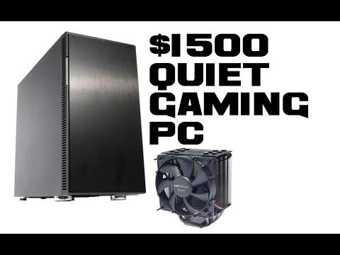$1500 Quiet Gaming PC Build - January 2014