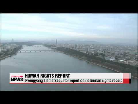 Pyongyang slams Seoul for report on its human rights record   북한, 북한인권백서에 강력 반발