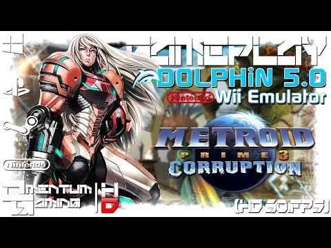 Metroid Prime 3: Corruption - Dolphin 5.0 | Wii Emulator Gameplay | HD.1080p 60ᶠᵖˢ