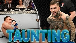 MMA UFC TAUNTING AND SHOWBOATING WINS FAILS AND FUNNY MOMENTS!