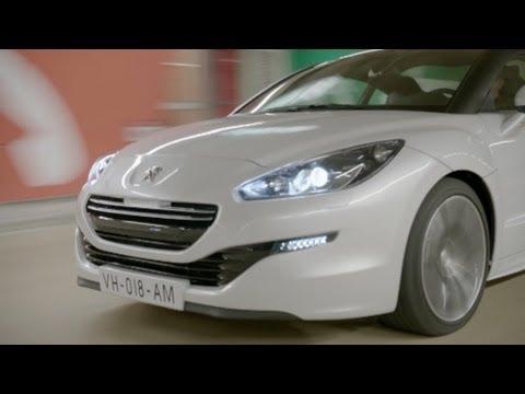 Peugeot RCZ 2013, промо
