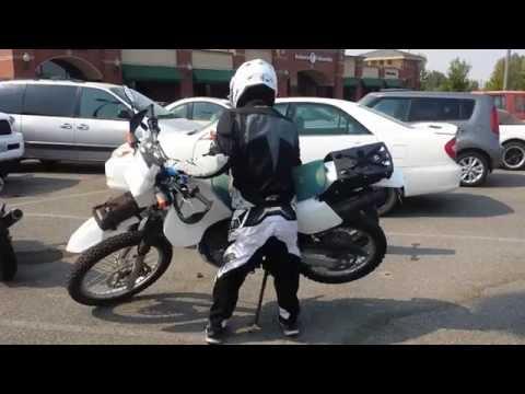 Short Rider, Tall Dual Sport Seat Height